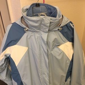 Jacket with removable inner jacket/liner